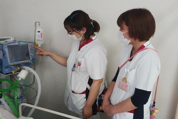 先輩看護師が若手の成長を力強くサポート!