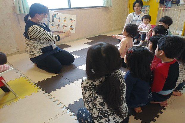 多様なイベント、教室を行う院内託児所!