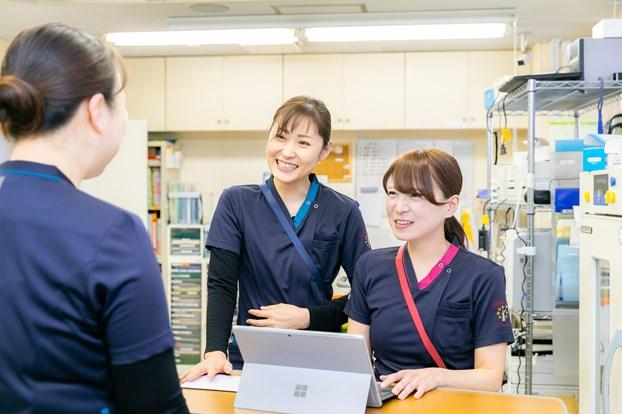 子育て中の看護師のフォロー体制はいかがですか。