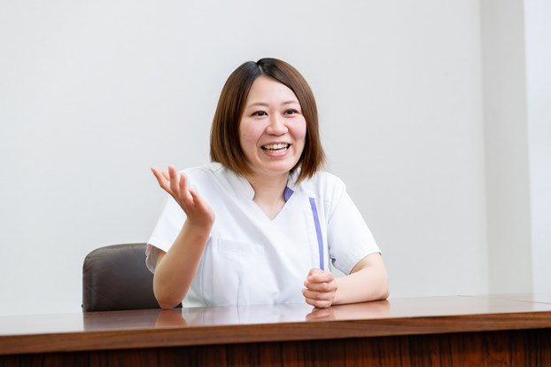 鈴木さんは新卒で栗橋病院に入職されたそうですね。